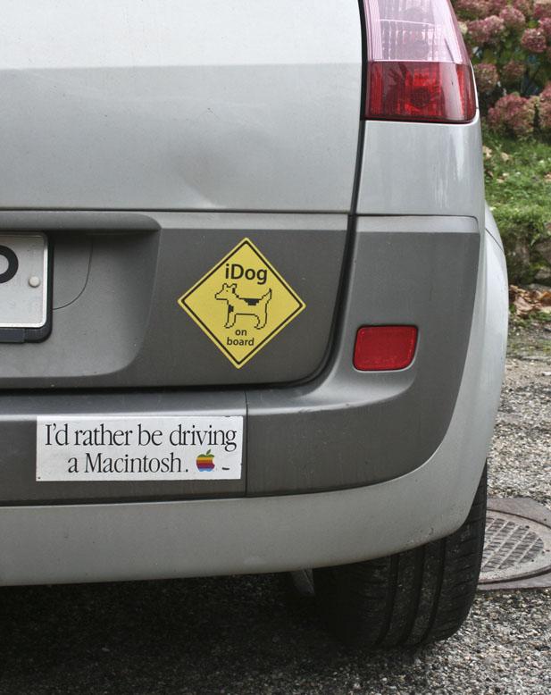 driving a macintosh